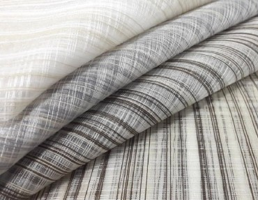 striped organza