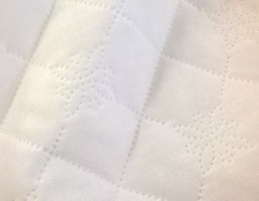 Quilted micro linen